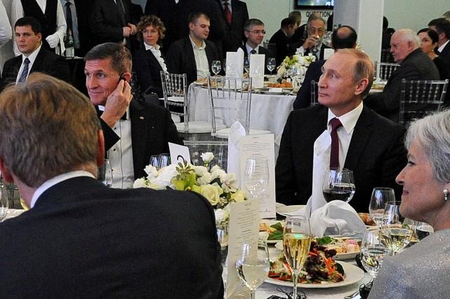 Lors d'un dîner de gala à Moscou en... (ARCHIVES REUTERS)