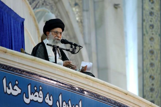 Ayatollah Ali Khameneia également critiqué l'Arabie saoudite, grand... (AFP)