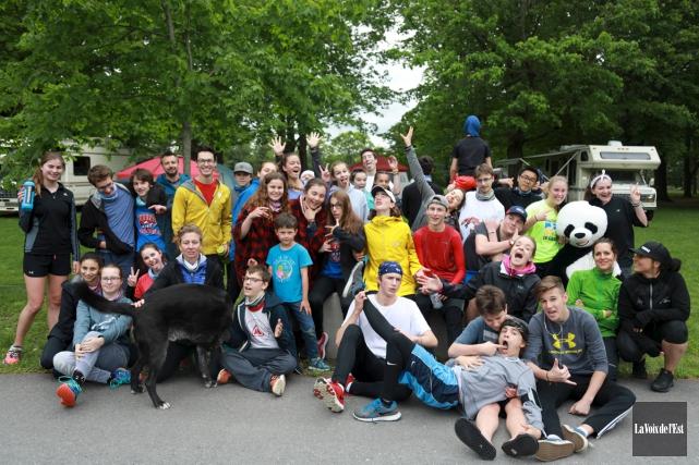 Beaucoup de jeunes ont participé à la deuxième... (Catherine Trudeau, La Voix de l'Est)