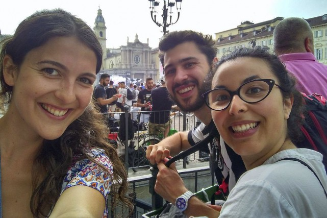 Marianne Sabourin, Marco Terruzzin et Sarah Lia Girard... (Photo fournie)