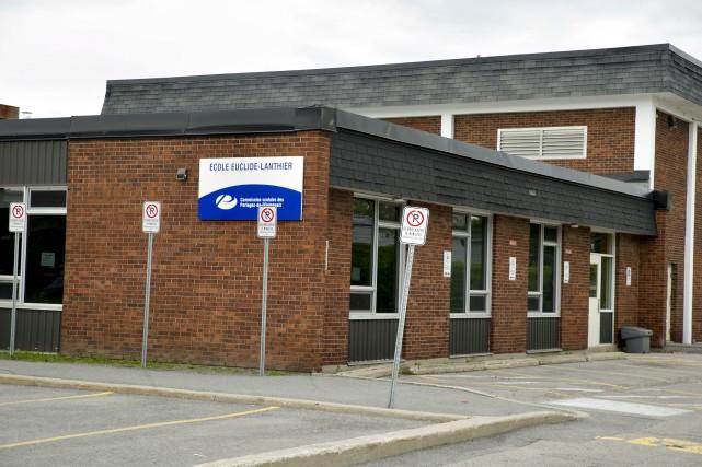 L'école Euclide-Lanthier est sitée dans le secteur Aylmer.... (Martin Roy, Le Droit)