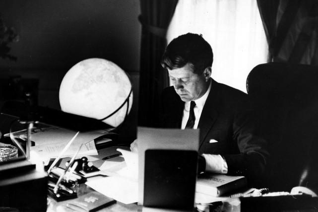 John Kennedy aurait eu 100 ans le 29... (George Tames/The New York Times)