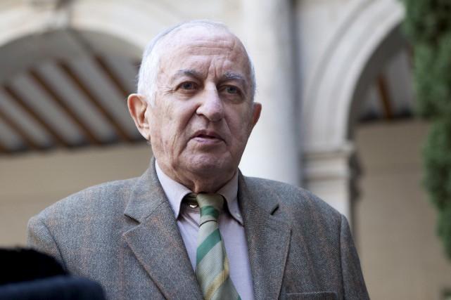 L'écrivain espagnol Juan Goytisolo, récipiendaire en 2014 du... (AP, Abraham Caro Marin)