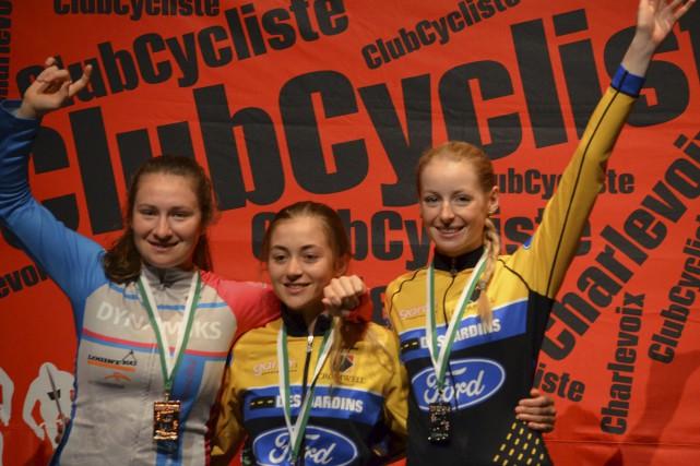 L'Almatoise Ann-Pascale Ouellet (à droite) a conclu le... (Photo courtoisie)