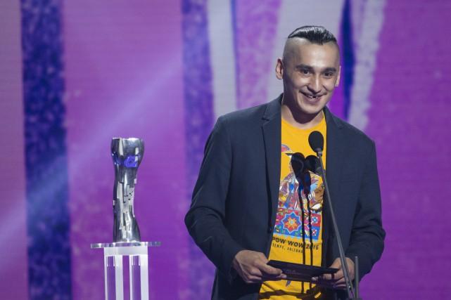 Rykko Bellemare de Wemotaci a remporté le prix... (La Presse)