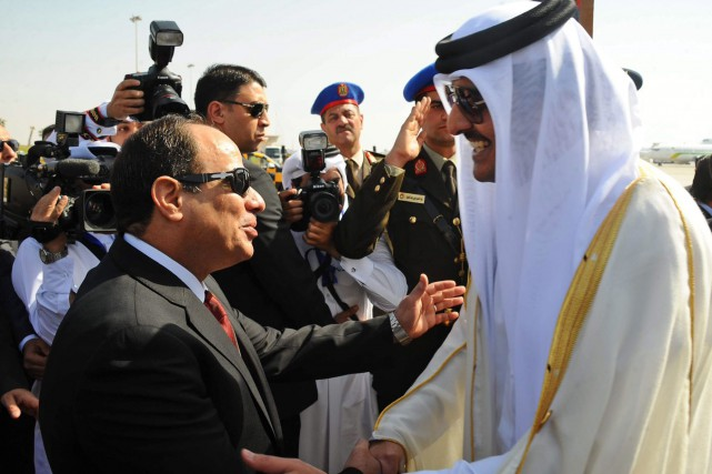 L'émir du Qatar, Tamim ben Hamad Al Thani... (Archives, Associated Press)