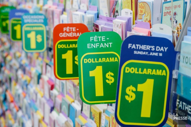 Dollarama a ouvert un nombre net de 13... (Photo Alain Roberge, Archives La Presse)