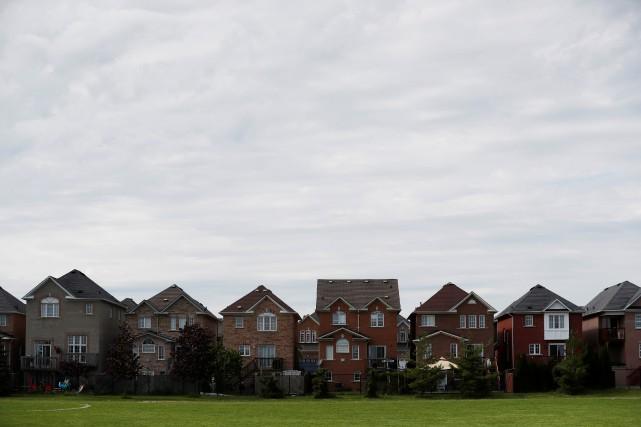 Le prix moyen d'une maison unifamiliale détachée a... (REUTERS)