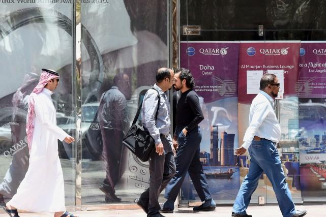 Depuis la montée en puissance du Qatar sur... (AFP)