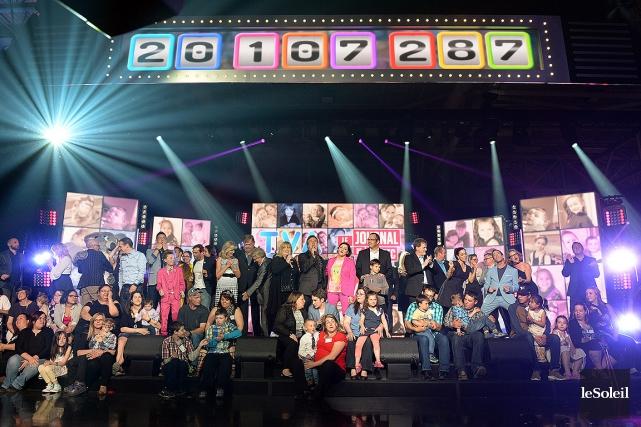 Le téléthon a été animé de Québec par... (Erick Labbe, Le Soleil)