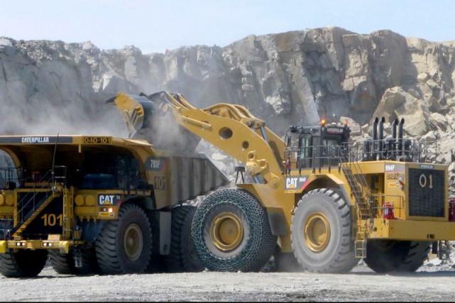 La mine à ciel ouvert de la corporation... (Minalliance)