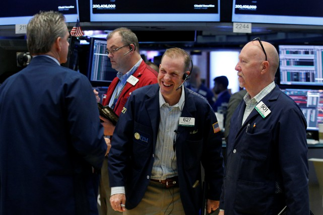 Le Dow Jones perdait 0,06% et le Nasdaq... (PHOTO REUTERS)