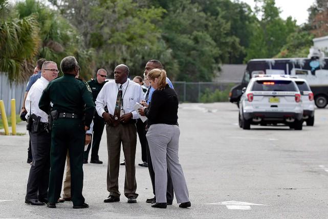 Un ancien militaire, récemment licencié d'une entreprise d'Orlando, en Floride,... (Photo John Raoux, Associated Press)
