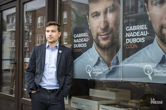 Gabriel Nadeau-Dubois... (TALISA HERNANDEZ, COLLABORATION SPÉCIALE, ARCHIVES LA PRESSE)