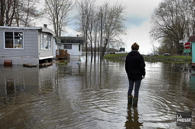 Les inondations ont touché plus de 250 municipalités... (Photo ROBERT SKINNER, ARCHIVES LA PRESSE)