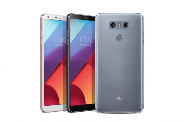 Le téléphone intelligent G6 de LG.... (photo fournie par LG)