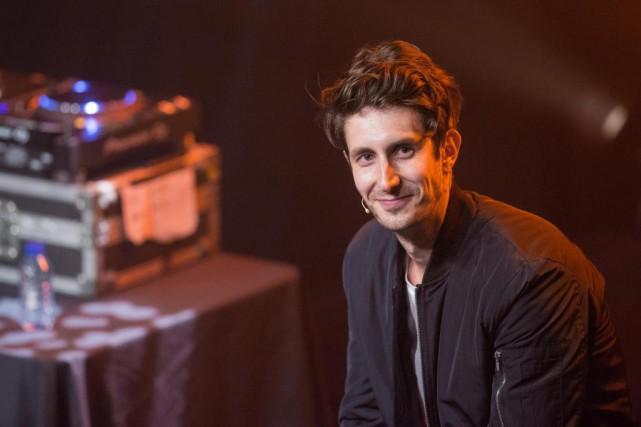 Le rodage du deuxième spectacle de Jérémy Demay,... (PHOTO SIMON GIROUX, LA PRESSE)
