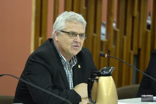 Le conseiller du district10, Marc Pettersen.... (Photo archives Le Quotidien, Jeannot Lévesque)
