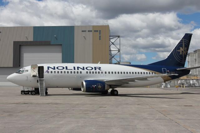 Un avion de ligne utilisera l'aéroport de Sherbrooke cette semaine pour... (Photo fournie)