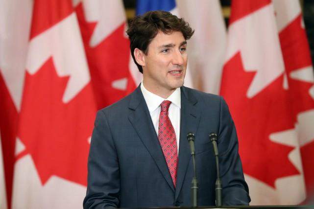 En conférence de presse lundi, le premier ministre... (Photo Lars Hagberg, AFP)