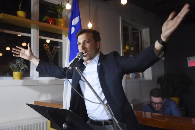 Le nouveau coporte-parole de Québec solidaire Gabriel Nadeau-Dubois... (La Presse canadienne, Ryan Remiorz)