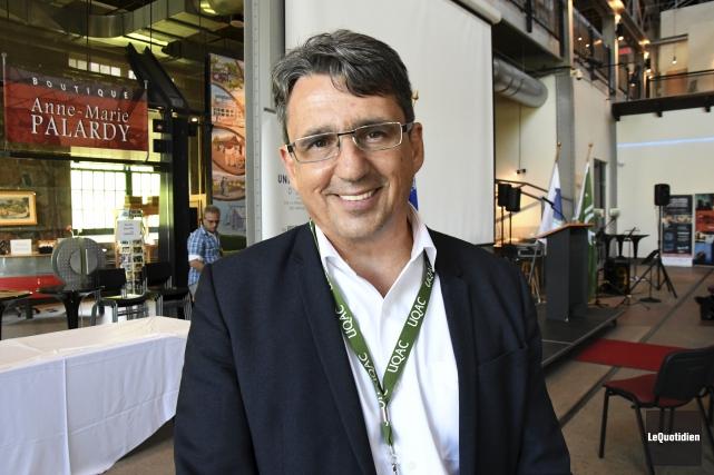 Le directeur général du Centre de la francophonie... (Photo Le Quotidien, Michel Tremblay)
