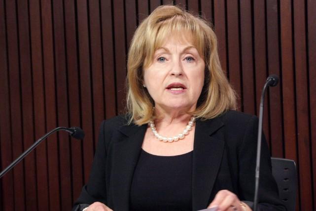 Madeleine Meilleur a retiré sa candidature pour le... (Photo archives PC)