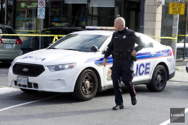 Deux hommes ont été tués et un troisième... (Martin Roy, Le Droit)
