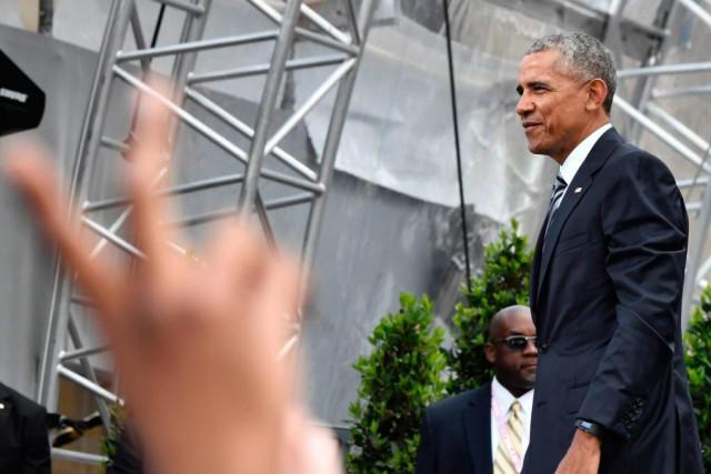 Le 25 mai dernier à Berlin, Barack Obama... (ARCHIVES AFP)