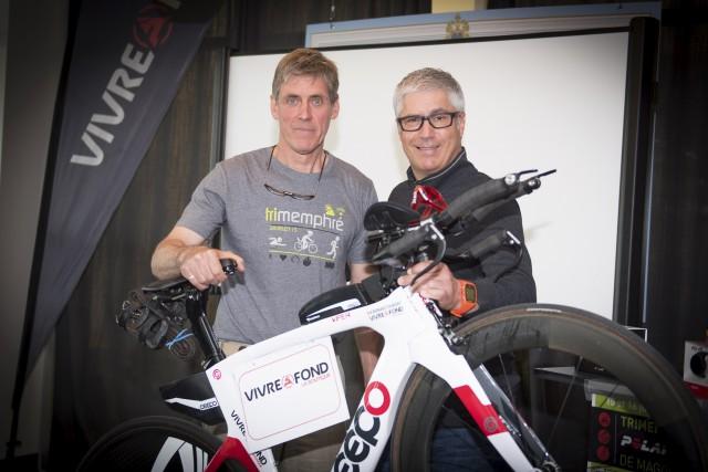 René Pomerleau, directeur de course, et Steven Boulet,... (Spectre Média, André Vuillemin)