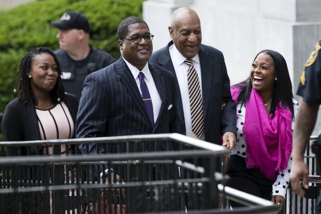 Bill Cosby doit répondre d'accusations d'agression sexuelle devant... (AP, Matt Rourke)