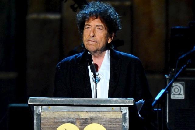 Bob Dylan disposait de six mois pour transmettre... (AP, Vince Bucci)