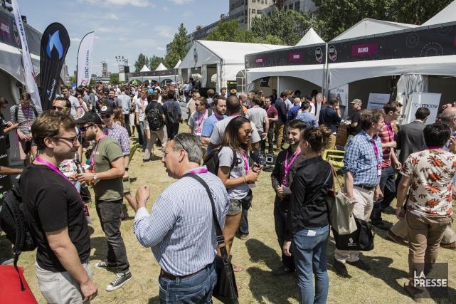 Une délégation d'une vingtaine de startups ou PME... (Édouard Plante-Fréchette, archives La Presse)