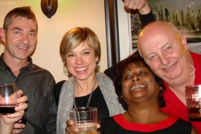 Même s'ils se savaient multimillionnaires, Ann-Marie Francis et... (Photo fournie)