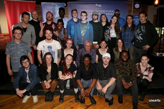 La 49ecohorte de demi-finalistes du Festival international de... (Janick Marois, La Voix de l'Est)