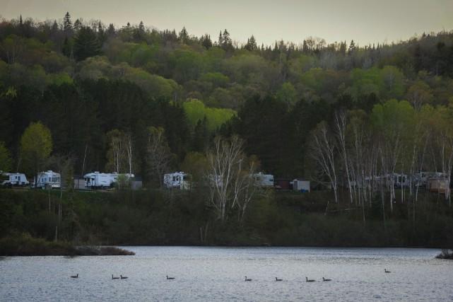 Les propriétaires du camping du lac Bellemare ne... (François Gervais, Le Nouvelliste)