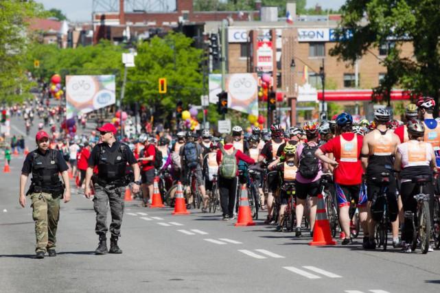 Les organisateurs du Tour de l'Île tenu le... (Photo Ninon Pednault, La Presse)