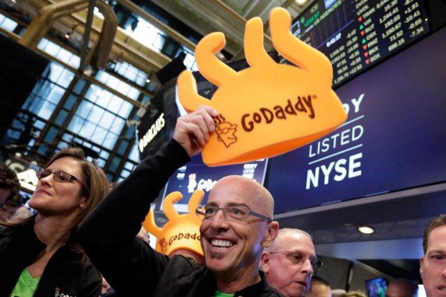 L'entreprise américaineGoDaddy veut offriraux très petites entreprises qui... (Photo Richard Drew, Associated Press)