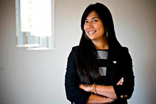 Kathy Baig est présidente de l'Ordre des ingénieurs... (Photo Patrick Sanfaçon, Archives La Presse)