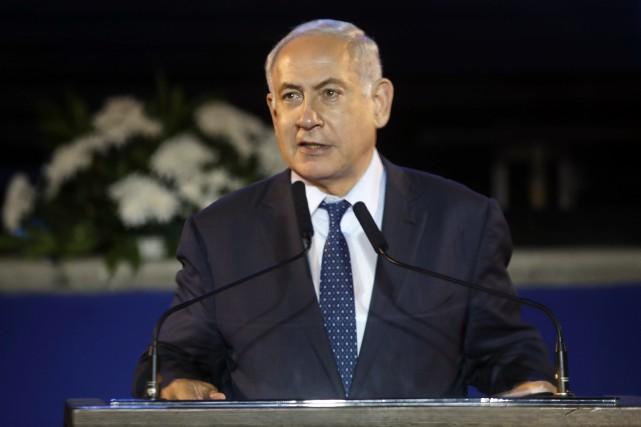 Benyamin Néthanyahou a affirmé lundi qu'Israël devrait «conserver... (Photo archives AFP)