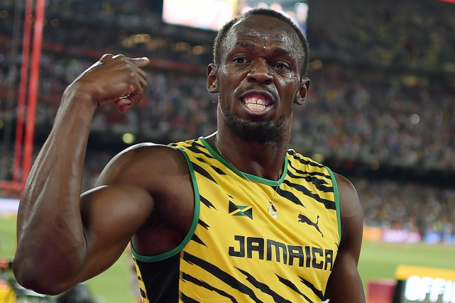 Usain Bolt... (Photo Johannes Eisele, AFP)
