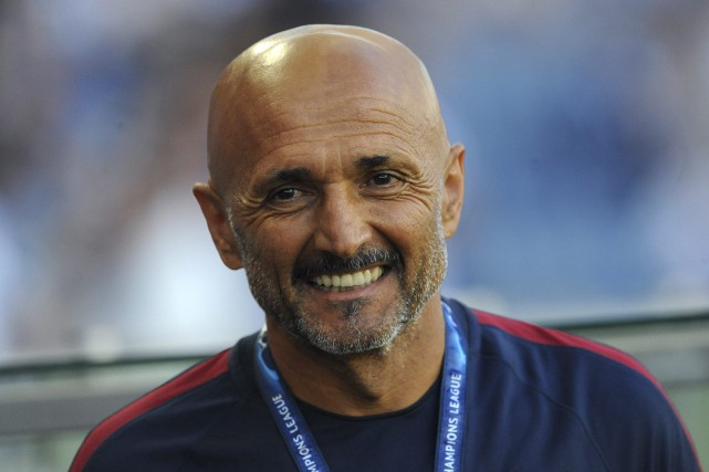 Luciano Spalletti... (Photo Paulo Duarte, archives AP)