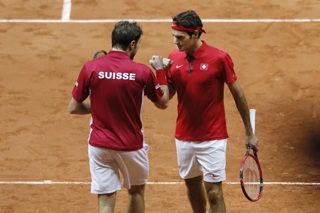 Ces dernières années, Stanislas Wawrinka, Roger Federer et... (Photo Gonzalo Fuetes, archives REUTERS)
