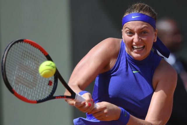 Petra Kvitova... (Photo Gabriel Bouys, AFP)