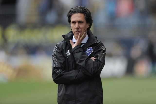 L'entraîneur-chef de l'Impact, Mauro Biello.... (Associated Press)