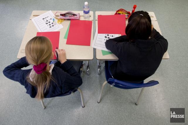 Le débat sur la falsification des résultats scolaires... (PHOTO DAVID BOILY, ARCHIVES LA PRESSE)