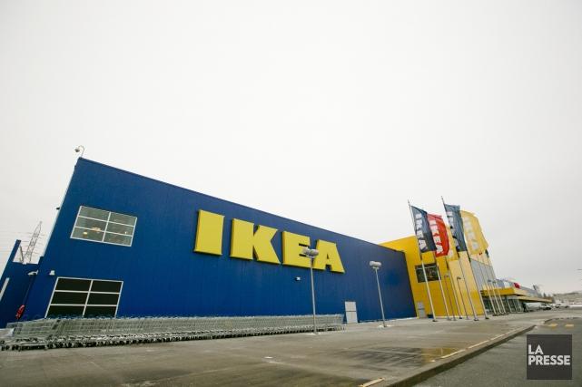 La division canadienne d'Ikea planifie 24 magasins d'ici... (PHOTO DAVID BOILY, ARCHIVES LA PRESSE)