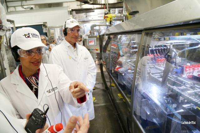 En augmentant la capacité de production de l'usine... (Janick Marois, La Voix de l'Est)