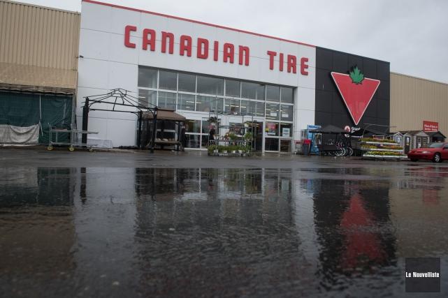 Le déménagement annoncé du magasin Canadian Tire de... (François Gervais, Le Nouvelliste)
