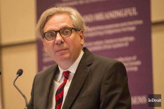 Le premier dirigeant de la CCN, Mark Kristmanson... (Simon Séguin-Bertrand, LeDroit)